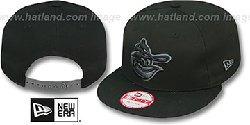 Orioles Coop 'FADEOUT SNAPBACK' Black-Grey Hat by New Era