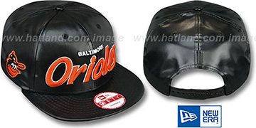 Orioles COOP REDUX SNAPBACK Black Hat by New Era