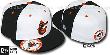 Orioles COOPERSTOWN ORLANTIC White-Black Fitted Hat by New Era