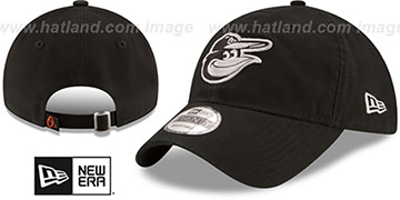 Orioles 'CORE-CLASSIC STRAPBACK' Black-Grey Hat by New Era