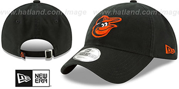 Orioles 'CORE-CLASSIC STRAPBACK' Black Hat by New Era