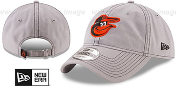 Orioles 'CORE-CLASSIC STRAPBACK' Light Grey Hat by New Era