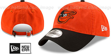 Orioles 'CORE-CLASSIC STRAPBACK' Orange-Black Hat by New Era