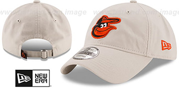 Orioles 'CORE-CLASSIC STRAPBACK' Stone Hat by New Era