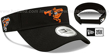 Orioles DASHMARK BP VISOR Black by New Era