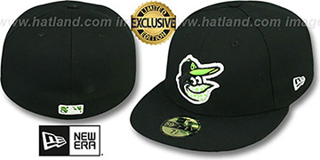 Orioles FASHION SAFARI Black Fitted Hat by New Era