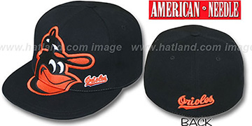 Orioles 'GETTIN BIG' Black Fitted Hat by American Needle