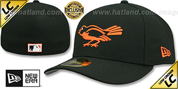 Orioles LOW-CROWN 1954-63 COOPERSTOWN Fitted Hat by New Era
