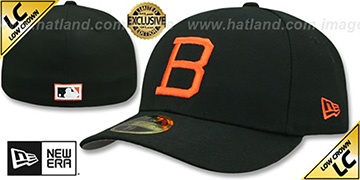 Orioles LOW-CROWN 1963 COOPERSTOWN Fitted Hat by New Era
