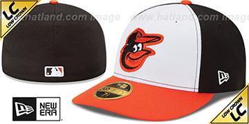 Orioles '2017 LOW-CROWN ONFIELD HOME' Fitted Hat by New Era