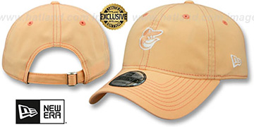 Orioles MINI BEACHIN STRAPBACK Light Orange Hat by New Era