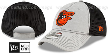 Orioles 'SHADOW TURN STRAPBACK' Grey-Black Hat by New Era