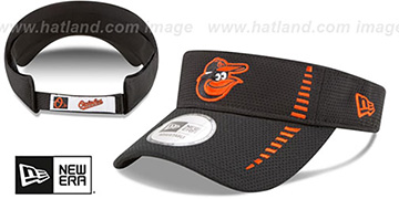 Orioles SPEED-VISOR Black by New Era