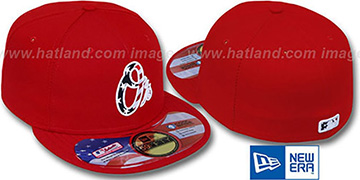 Orioles 'STARS N STRIPES' Red Hat by New Era