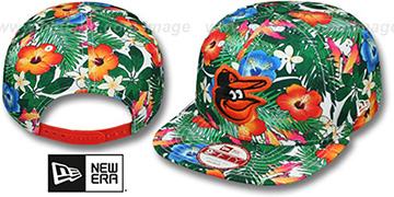 Orioles 'SUNSHINE BLOOM SNAPBACK' Hat by New Era