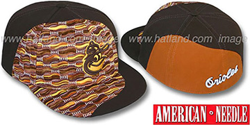 Orioles 'SWEATER SWIRL' Brown Hat by American Needle