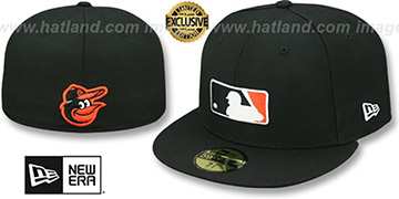 Orioles TEAM MLB UMPIRE Black Hat by New Era