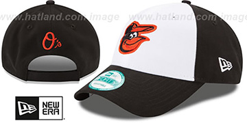 Orioles 'THE-LEAGUE STRAPBACK' White-Black Hat by New Era