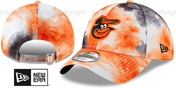 Orioles TIE-DYE STRAPBACK Hat by New Era