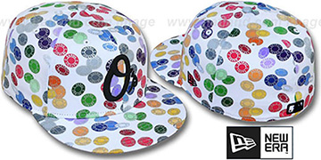 Orioles TOKENS White-Multi Fitted Hat by New Era