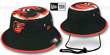 Orioles 'TOPPER TRAINING BUCKET' Black Hat by New Era