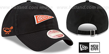 Orioles 'VINTAGE PENNANT STRAPBACK' Black Hat by New Era