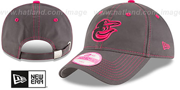 Orioles 'WOMENS MOTHERS DAY STRAPBACK' Grey Hat by New Era