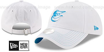 Orioles 'WOMENS POP PREFERRED PICK STRAPBACK' White-Blue Hat by New Era