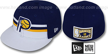 Pacers 'HARDWOOD HORIZON' Fitted Hat by New Era