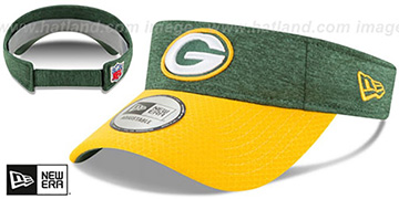 Packers 18 NFL STADIUM Green-Gold Visor by New Era