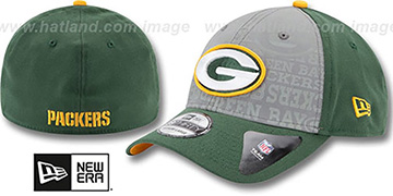 Packers 2014 NFL DRAFT FLEX Green Hat by New Era