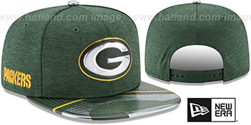 Packers 2017 NFL ONSTAGE SNAPBACK Hat by New Era
