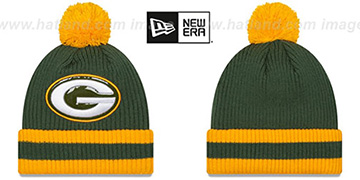 Packers 'CHILLER FILLER BEANIE' Green-Gold by New Era