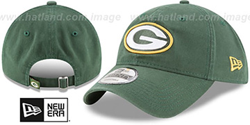 Packers CORE-CLASSIC STRAPBACK Green Hat by New Era