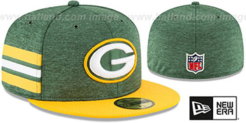 Packers HOME ONFIELD STADIUM Green-Gold Fitted Hat by New Era