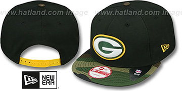 Packers 'NFL CAMO-BRIM SNAPBACK' Adjustable Hat by New Era