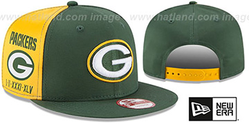 Packers 'PANEL PRIDE SNAPBACK' Hat by New Era