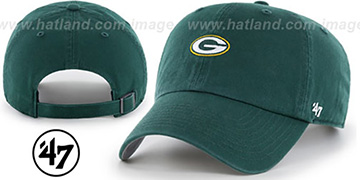Packers 'POLO STRAPBACK' Green Hat by Twins 47 Brand