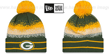 Packers SPEC-BLEND Knit Beanie Hat by New Era