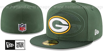 Packers STADIUM SHADOW Green Fitted Hat by New Era