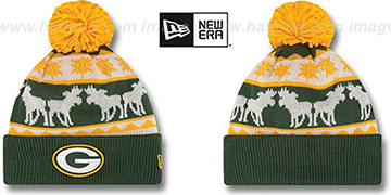Packers 'THE-MOOSER' Knit Beanie Hat by New Era