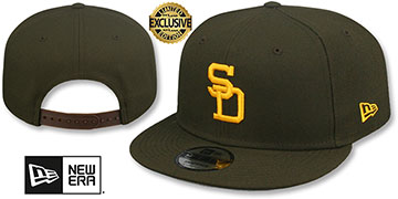 Padres 1969-71 COOPERSTOWN REPLICA SNAPBACK Hat by New Era
