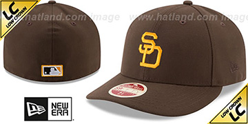 Padres 1969 'LOW-CROWN VINTAGE' Fitted Hat by New Era