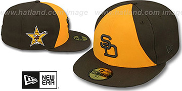 Padres 1978 'SIDE ALL-STAR-PATCH' Fitted Hat by New Era