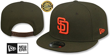 Padres 1985-90 COOPERSTOWN REPLICA SNAPBACK Hat by New Era