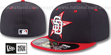 Padres '2014 JULY 4TH STARS N STRIPES' Hat by New Era