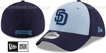 Padres 2018 FATHERS DAY FLEX Sky-Navy Hat by New Era