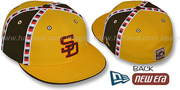 Padres CHECKERED PAST Fitted Hat by New Era