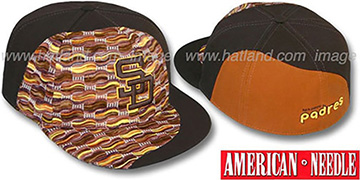 Padres 'SWEATER SWIRL' Brown Hat by American Needle