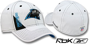 Panthers '2010 DRAFT-DAY FLEX' White Hat by Reebok